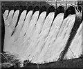 SN8968 : The Craig Goch dam overflows by Nigel Brown