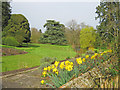 SO7341 : Gardens at Old Colwall House by Trevor Rickard
