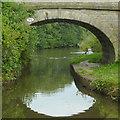 SJ9275 : Woods Bridge north of Macclesfield, Cheshire by Roger  Kidd