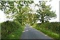 NU2213 : Road towards Ratcheugh Crag by DS Pugh