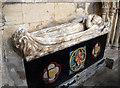 TF3244 : Effigy of Dame Margaret Tilney (probably), St Botolph's church, Boston by Julian P Guffogg