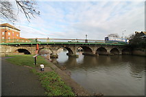 SK7954 : Trent Bridge, Newark by J.Hannan-Briggs