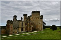 NZ0878 : Belsay Castle by Michael Garlick