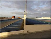 SP0687 : Almost empty - multistorey car park by Chris Allen