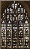 TF3244 : Stained glass window, St Botolph's church, Boston by Julian P Guffogg