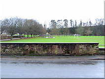 NY6820 : King George's Field from Chapel Street, Appleby by Andrew Curtis
