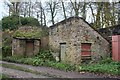 SJ9880 : Outbuildings at Grove/Lumbhole Mill by Dave Dunford