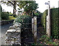 SJ2937 : Kissing gate to the Shropshire Way in Chirk Bank by Jaggery