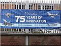 SP0368 : Mettis Aerospace - celebratory banner by Chris Allen