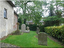 SU1062 : St. Mary, Alton Barnes: churchyard (ii) by Basher Eyre