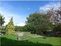 SU1062 : St. Mary, Alton Barnes: churchyard (v) by Basher Eyre