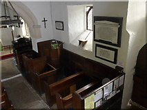 SU1062 : Inside St. Mary, Alton Barnes  (3) by Basher Eyre
