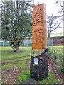 NH4858 : Pictish Slab by Richard Dorrell
