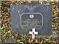 TG1712 : Memorial plaque to 10 USAF airmen by Adrian S Pye