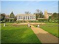 SK9239 : The Italian Garden at Belton House by Trevor Rickard