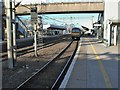 SP7460 : Northampton (Castle) railway station, Northamptonshire by Nigel Thompson