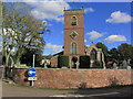 SJ8067 : Swettenham - St Peter's Church by Colin Park