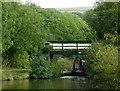 SJ9482 : Mitchells Bridge south of Higher Poynton, Cheshire by Roger  Kidd