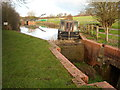 ST9877 : Lift bridge and lock, Wilts & Berks canal, Foxham by Vieve Forward