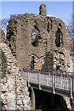 SO4024 : Grosmont Castle by Chris Andrews