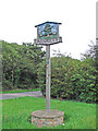 TL6968 : Kennett village sign by Adrian S Pye