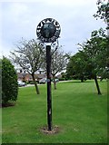 TM3864 : Kelsale cum Carlton village sign by Adrian S Pye