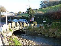 SX5548 : The bridge, Bridgend, Noss Mayo by Ruth Sharville