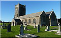 SW8874 : St. Merryn's church, St. Merryn, near Padstow by Ruth Sharville
