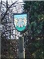 TM4150 : Orford village sign by Adrian S Pye