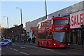 TQ3382 : New Routemaster on Bethnal Green Road by Oast House Archive