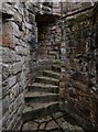 NJ4516 : Kildrummy Castle:  Interval Tower by Michael Garlick