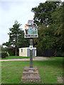 TM1871 : Redlingfield village sign by Adrian S Pye