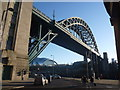 NZ2563 : Tyneside Townscape : The Tyne Bridge, Newcastle by Richard West
