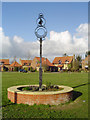 TM4087 : Ringsfield village sign by Adrian S Pye