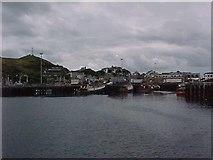 NM6797 : Mallaig harbour by Tim Glover