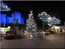 SC2667 : Market Square decorations Castletown by Richard Hoare