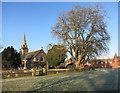 SU7856 : St Mary's Church, Elvetham by Des Blenkinsopp