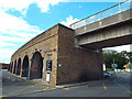 SU9676 : Railway arches, Windsor by Malc McDonald