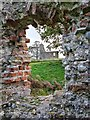TG1238 : Baconsthorpe Castle by Martin Pearman