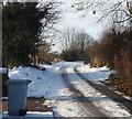 SK5856 : New Lane, Blidworth, Notts. by David Hallam-Jones