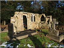 SK5855 : Cemetery, St Mary's Church, Blidworth, Notts. by David Hallam-Jones