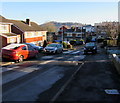 ST3090 : Patchy hoar frost in Malpas, Newport by Jaggery