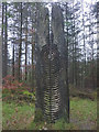 SD3393 : 'Cloak of Seasons', a sculpture at Grizedale Forest by Karl and Ali