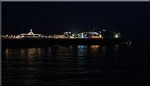 TQ3103 : Palace Pier at Night by Martin Addison
