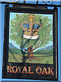 TQ7630 : Royal Oak sign by Oast House Archive