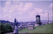 NT2674 : View from the Portuguese Gun, Calton Hill (1968) by kim traynor