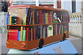 TQ3265 : Bus Art, 'The Library' by Oast House Archive