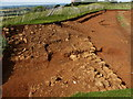 SK7511 : Archaeological dig at Burrough Hill Iron Age Hillfort by Mat Fascione