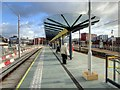 SJ8397 : Deansgate-Castlefield Tram Stop (Jan 2015) by David Dixon