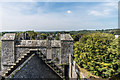 R4560 : Bunratty Castle rooftop by Ian Capper